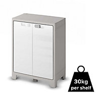 Form Major 2 shelf Polypropylene Short Storage cabinet