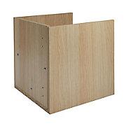 Form Mixxit Oak effect Cabinet door (H)330mm (W)330mm