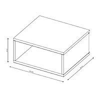 Form Oppen Grey oak effect Wall unit (H)240.5mm (W)499mm (D)450mm