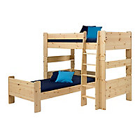 Form Wizard Pine effect Single Bed frame (H)625mm (W)2060mm