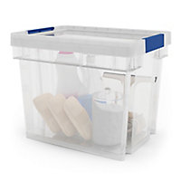 Form Xago Heavy duty Clear 24L Polypropylene (PP) Stackable Storage box