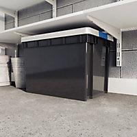 Form Xago Heavy duty Grey 68L Polypropylene (PP) Stackable Storage box
