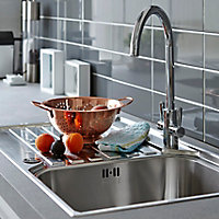 Franke Ascona Polished Stainless steel Stainless steel 1 Bowl Sink & drainer