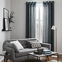 Fremont Art Deco Beige & grey Cushion (L)30cm x (W)50cm