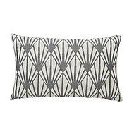 Fremont Art Deco Beige & grey Cushion