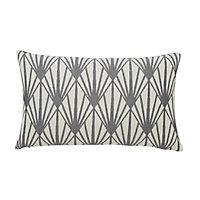 Fremont Art Deco Beige & grey