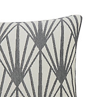 Fremont Art Deco Beige & grey