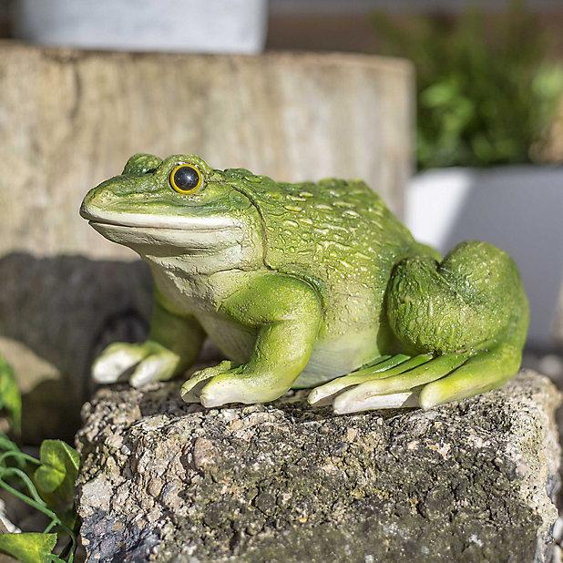 Frog Garden Ornament Diy At B Q, Ceramic Frog Garden Decor