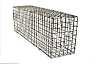Galvanised Steel Gabion kit, (H)40cm (W)1.2m