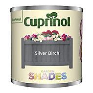 Garden shades Silver Birch Matt Wood paint, 125ml Tester pot