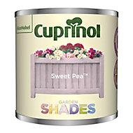Garden shades Sweet Pea Matt Wood paint, 125ml Tester pot
