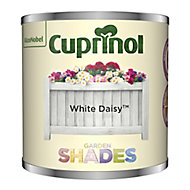 Garden shades White Daisy Matt Wood paint, 125ml Tester pot
