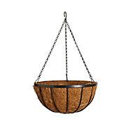 Gardman Edwardian Coco liner Hanging basket, 35.56cm