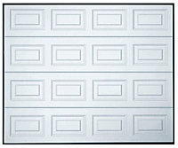 Georgian Sectional Garage door, (H)1981mm (W)2286mm