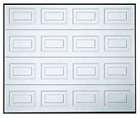 Georgian Sectional Garage door, (H)1981mm (W)2438mm