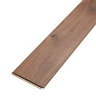 Gladstone Natural Gloss Dark oak effect Laminate Flooring Sample