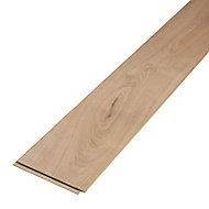 Gladstone Natural Gloss Oak effect Laminate Flooring Sample