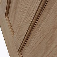 Glazed Traditional Oak veneer LH & RH Internal Door, (H)1981mm (W)762mm