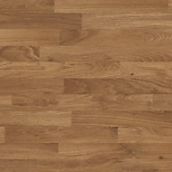 GoodHome 1mm Kala Matt Honey Wood effect Laminate Square edge Kitchen Worktop, (L)120mm Swatch card
