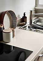 GoodHome 38mm Kabsa Matt Travertine Travertine effect Laminate & particle board Post-formed Kitchen Worktop, (L)3000mm