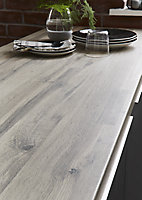 GoodHome 38mm Kabsa Matt Wood effect Laminate & particle board Post-formed Kitchen Worktop, (L)3000mm