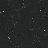 GoodHome 38mm Kala Matt Black Stone effect Chipboard & laminate Square edge Kitchen Breakfast bar, (L)2000mm