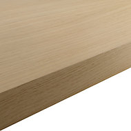 GoodHome 38mm Kala Matt Wood effect Laminate & particle board Square edge Kitchen Worktop, (L)3000mm