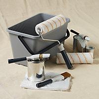 "GoodHome 9"" Medium pile Decorating set, 8 pieces"