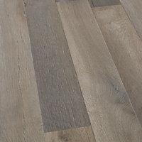 GoodHome Addington Grey Oak effect Laminate Flooring, 2m² Pack