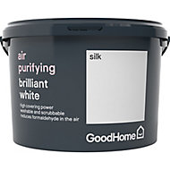 GoodHome Air purifying Brilliant white Silk Emulsion paint, 2.5L