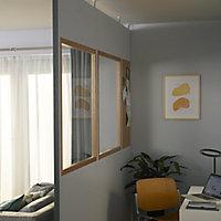 GoodHome Alara White Modular Room divider panel (H)0.13m (W)1m
