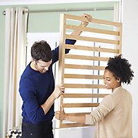 GoodHome Alara White Modular Room divider side panel kit (H)2.01m (W)0.18m