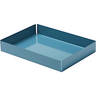 GoodHome Amantea Stainless steel Blue Tray