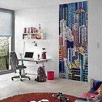 GoodHome Ammi Multicolour Skyscraper Matt Mural