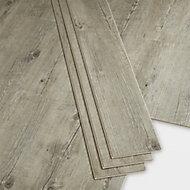 GoodHome BAILA Natural Wood effect Luxury vinyl flooring tile, 2.2m² Pack