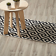 GoodHome Ballapur Grey Oak effect Laminate Flooring, 2m² Pack of 8