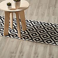 GoodHome Ballapur Grey Oak effect Laminate flooring, 2m² Pack