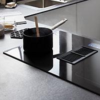 GoodHome Bamia GHIHEF77 4 Zone Black Ceramic glass Induction Hob, (W)770mm
