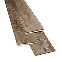 GoodHome Bannerton Dark Mahogany effect Laminate flooring, 2.06m² Pack