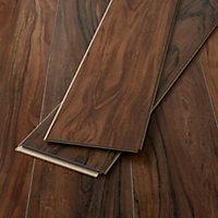 GoodHome Bannerton Natural Mahogany effect Laminate Flooring, 2.06m² Pack