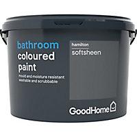 GoodHome Bathroom Hamilton Soft sheen Emulsion paint, 2.5L