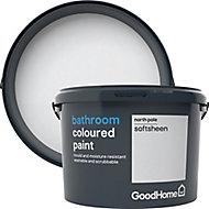 GoodHome Bathroom North pole Soft sheen Emulsion paint, 2.5L