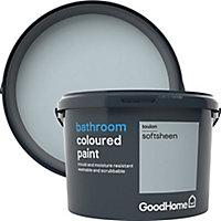 GoodHome Bathroom Toulon Soft sheen Emulsion paint, 2.5L