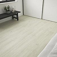 GoodHome Bossa Nova Beige Wood effect Luxury vinyl flooring tile, 0.97m² Pack of 7