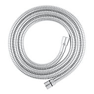 GoodHome Brass Shower hose, (L)2m