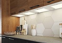 GoodHome Caraway Matt White Mains-powered LED Cool white & warm white Cabinet light IP20 (W)364mm