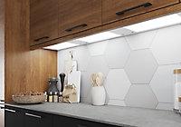 GoodHome Caraway Matt White Mains-powered LED Cool white & warm white Cabinet light IP20 (W)464mm
