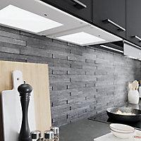 GoodHome Caraway Matt White Mains-powered LED Cool white & warm white Cabinet light IP20 (W)564mm