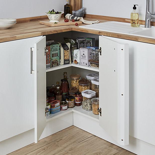 Corner Sink Cabinet B Q