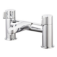GoodHome Cavally Chrome effect Bath Filler Tap